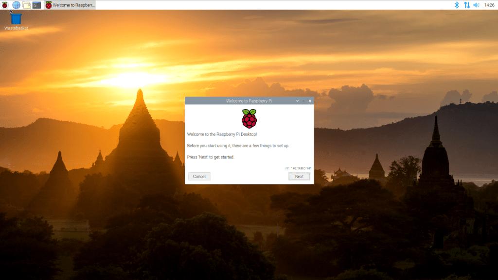 desktop raspberry