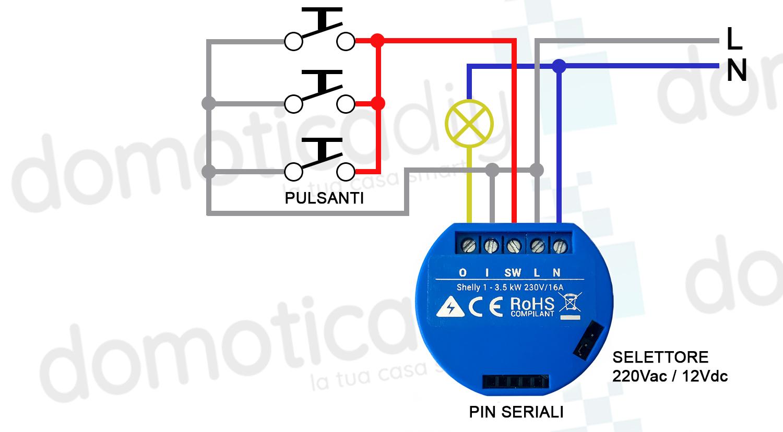 collegamento-shelly-pulsanti