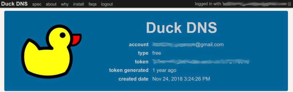 duckdns-token